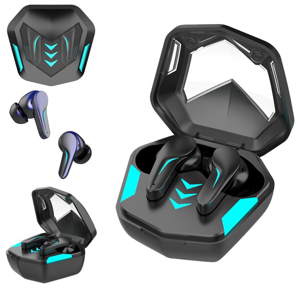 Gaming Earbuds Беспроводные наушники с микрофоном Водонепроницаемый Bluetooth 5.1 Музыка / Игра Модель Поддержите любой смартфон