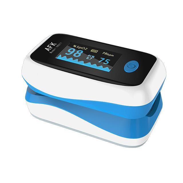 Çin Tedarikçi Hastanesi Dijital Medikal Ürünler OLED FINTERMIP Nabız Oksimetre Rekabetçi Fiyat ve Yüksek Kalite ile