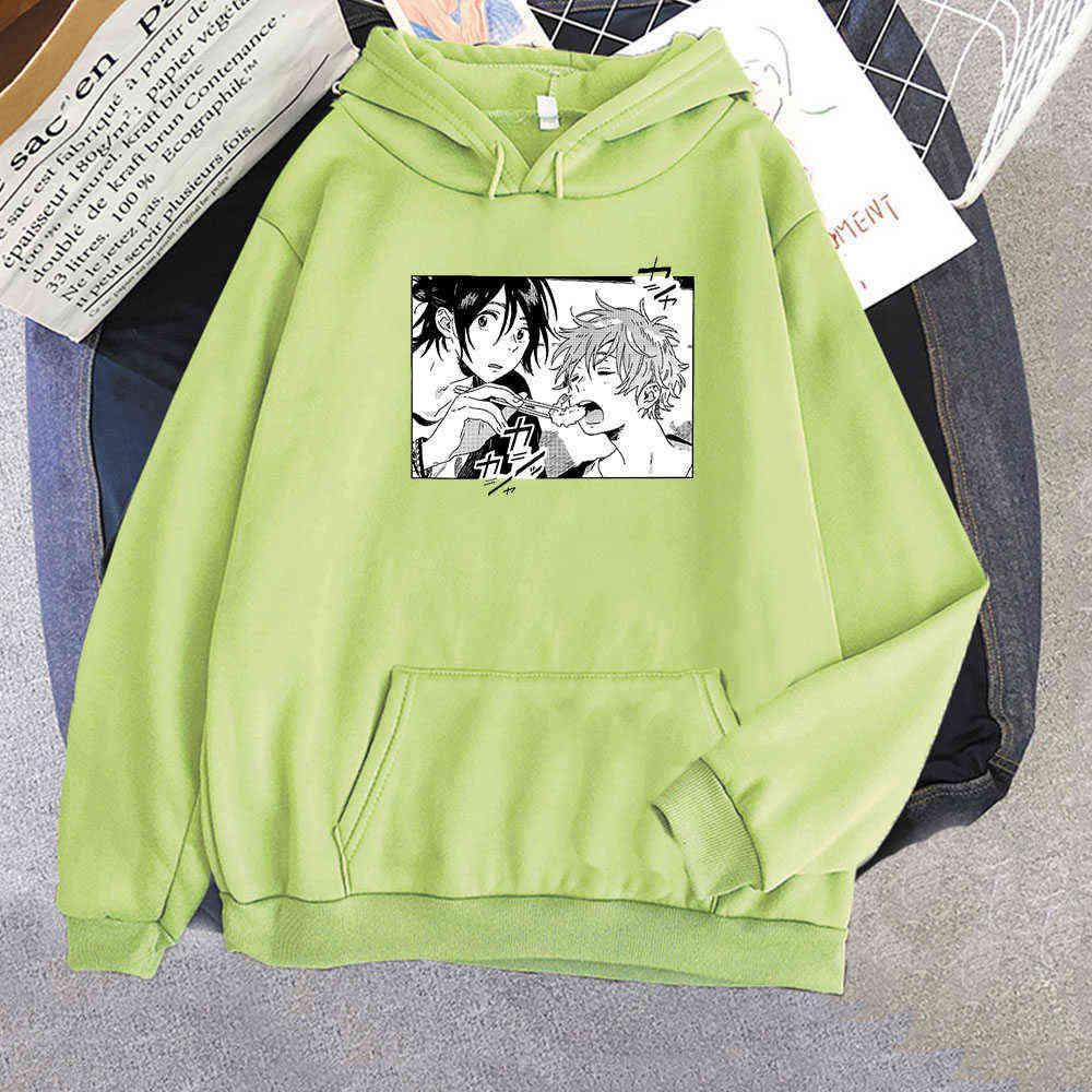Harajuku Anime Umibe No Etranger Hoodies Hashimoto Shun And Chihana Mio Print Unisex Fashion Winter Warm Couple Sweatshirt Tops Y0802