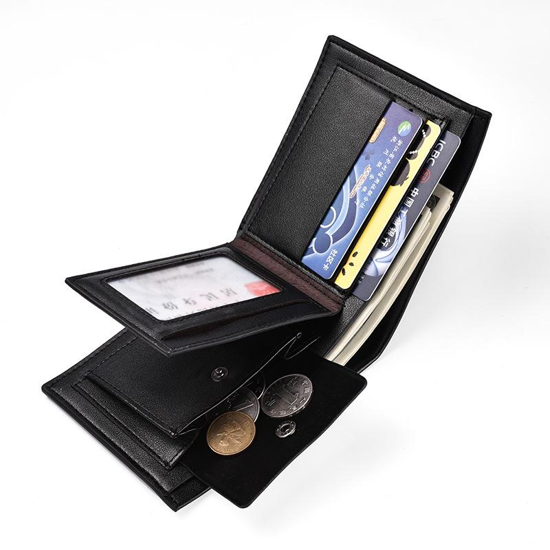 Wallet New 2019 Coin Amazon Purse Bag Men's Fashion Multi-functional Wallet Cross-border Short Wallet Gktvr