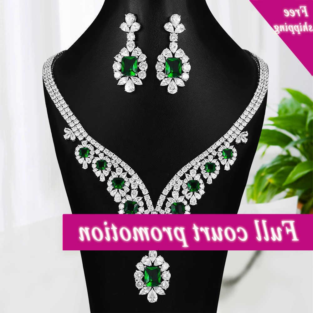 Missvikki Beautiful necklace Earrings Red Blue Tears by Angel Crystal For Women Bruiloft Naija Bridal Dubai Dress Jewelry Set