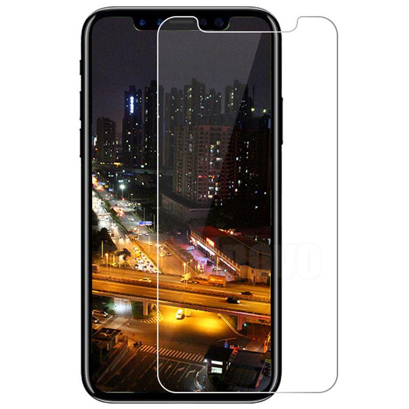 2.5D vidro temperado 9h protetor de tela premium explosão resistente protetor de filme anti-knock para iphone 13 pro max 12 mini 11 xs xr x 8 7 6 6s plus