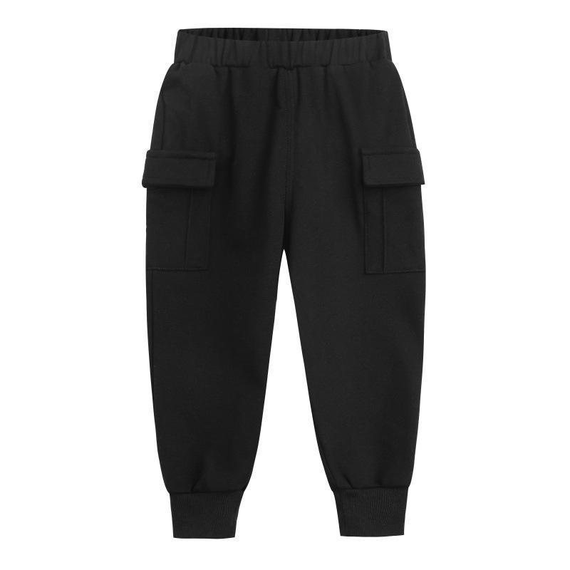 Мальчик брюки мода весна осень хлопок спортивные брюки детские грузовые брюки детей досуг брюки одежда