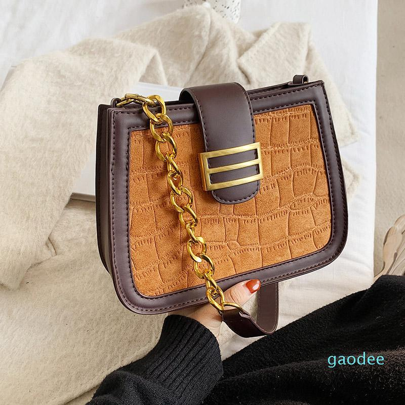VeryMe Vintage Square Leather Shoulder Bags Lady Classic Casual Handbags For Women Quality Chain Crossbody Bag Bolsos Para Mujer Kikbm
