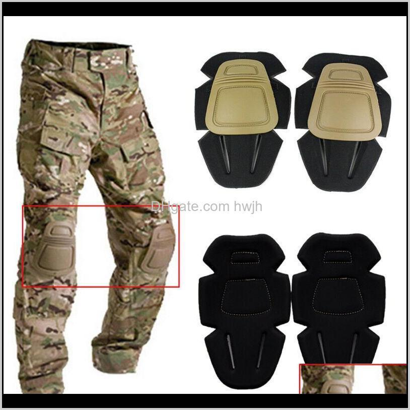 1 Pair Adult Tactical Combat Protective Pad Set Protector Sports Safety Elbow Or Knee Pads Joelheira Cinta 8Of73 8Skqg