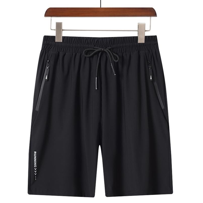 Verano fresco y transpirable deportes casuales pantalones cortos moda simple cómodo capris rápido secado deportes hombres pantalones cortos 210729