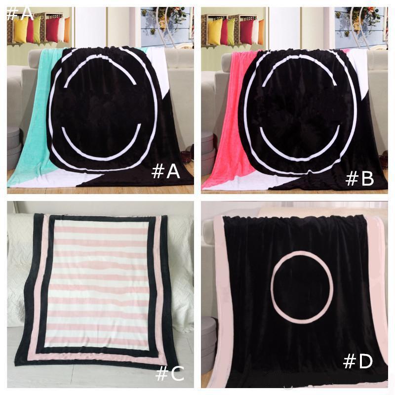 Black Rose Colors Couverture 130 * 150cm Velvet Soft Coral Velvet Couvertures de serviette Climatisation Tapis Confortable Tapis