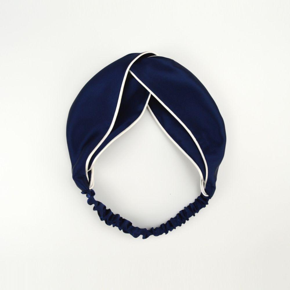 Echtes Silk Hairband Net Rot Kopfschmuck Presshaar Frau Waschen Gesicht Haarband Stirnband
