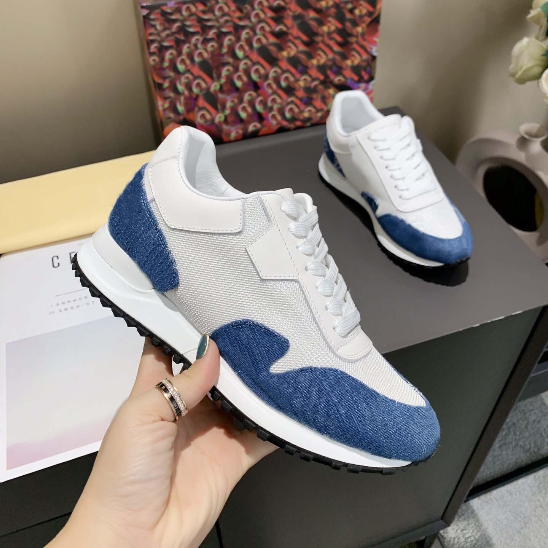 2021 Edición Men Sneakers Top Multicolor Zapatos Demetra Deportes Casual Rubber Sole Sole Trainers con FullPackage Show Style Gentleman BarbeDless 35-45