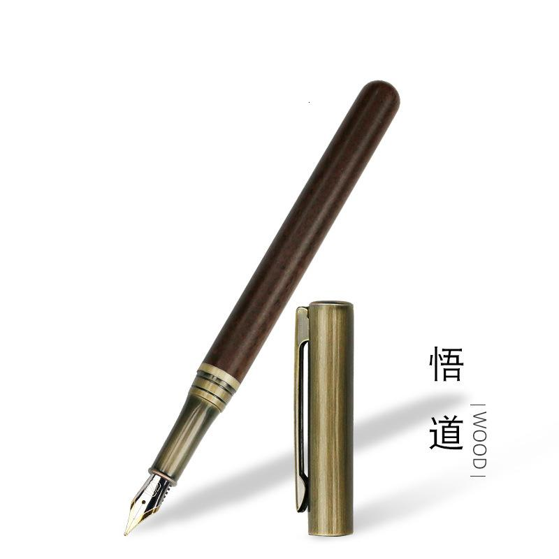 Wudao Advertising Gift Beginners Calligraphy Office Meeting 0.5mmf Point Pen Factory