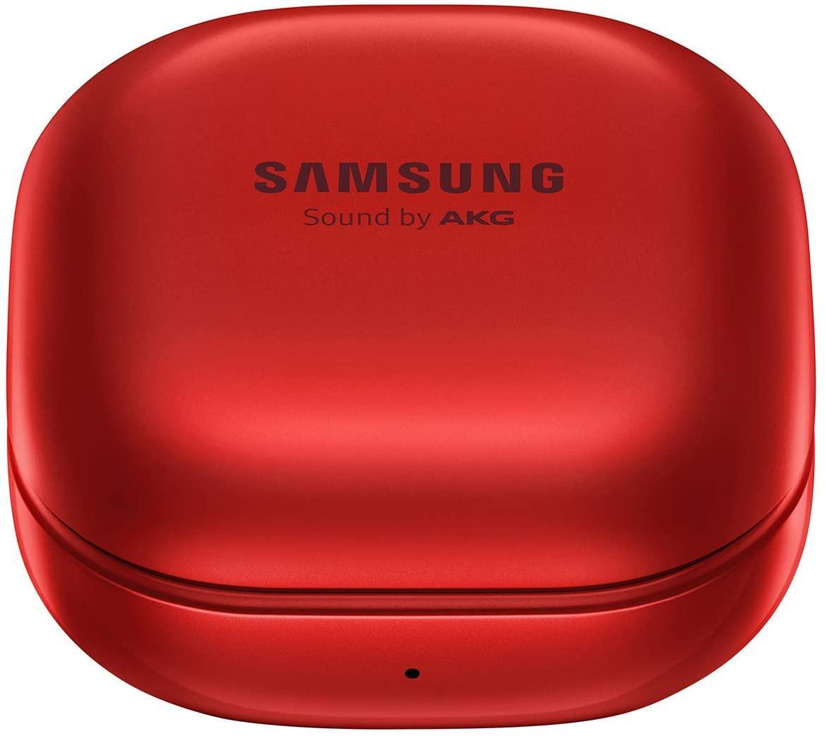 Amsung Galaxy Otobüsler Canlı Elektronik Kulaklık Kablosuz Bluetooth Kulaklık Gürültü Azaltma (ANC) Rahat ve Dayanıklı Pil Kırmızı