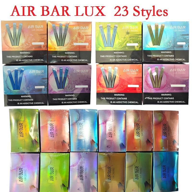 Air BAR LUX EINTRAG VAPE PENE Elektronische Zigaretten mit 500mAh Batterie 2,7 ml Pods 1000 Puffs Gerätestarter Kit vs Bang XXL