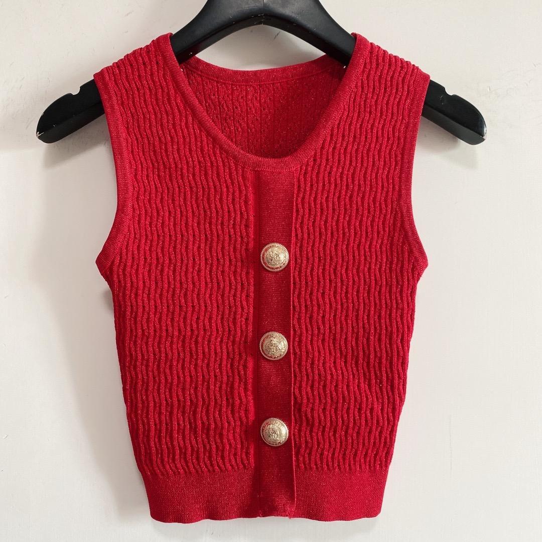 Milan pist kadın t-shirt 2021 o boyun kolsuz baskı tasarımcı mont marka aynı stil T-shirt 0526-20