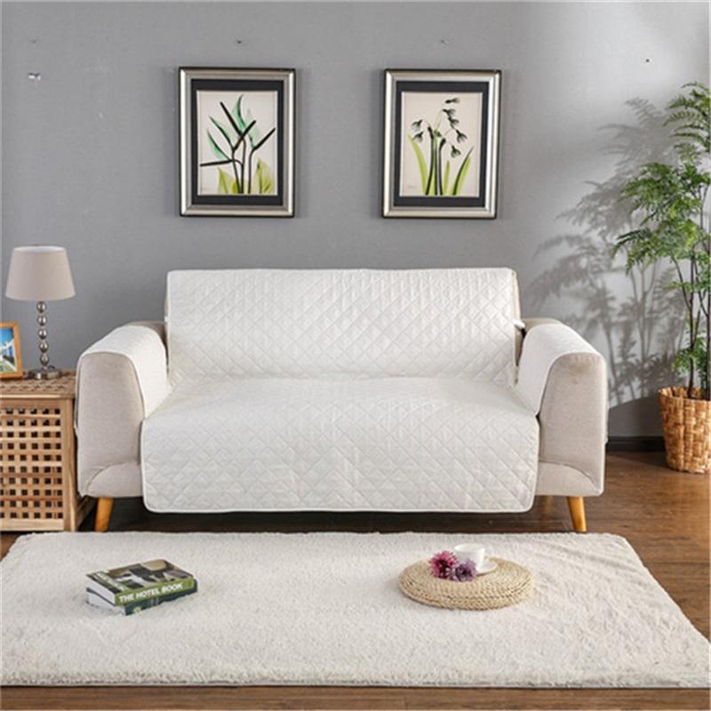 Cover moderni divano per soggiorno Cover Cover Coperchio Pet Dog Bambini Mat Furniture Protector Reversibile Armrest Slipcovers 1/2/3 Seater 1307 V2