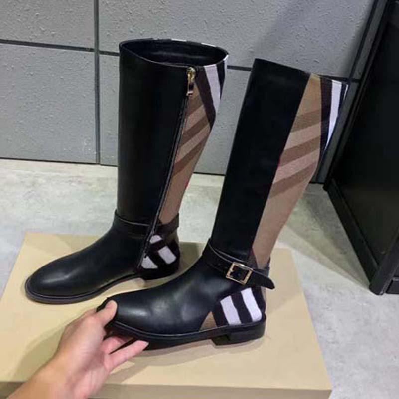 Scarpe da donna in pelle di design di lusso di alta qualità di lusso Stivaletti da donna autunno e inverno stivali da donna squisito stivali da donna Cowboy Shoe10 2801