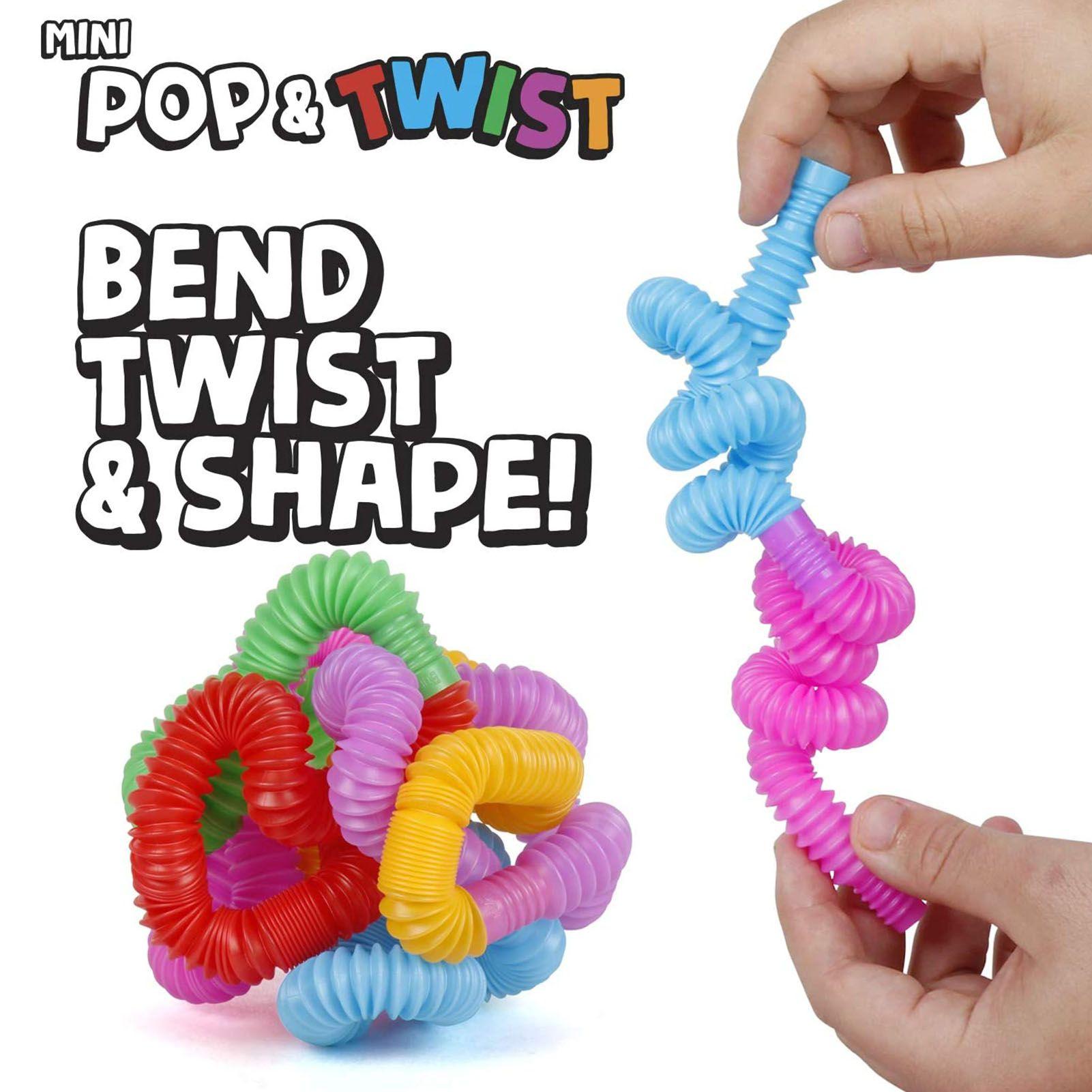 ديي الإبداعية تململ اللعب دائرة ملون البلاستيك أنبوب لفائف الأطفال مضحك اللعب المبكر التعليمية لعبة قابلة للطي
