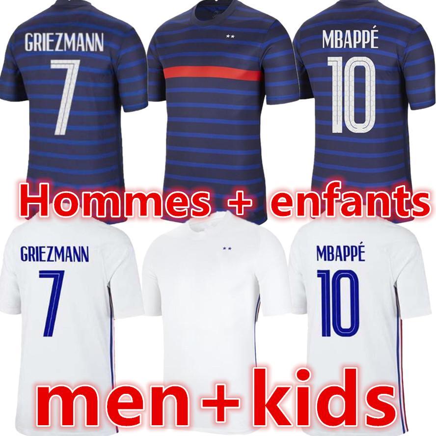 Benzema Fussball Jersey Maillot Foot Maillots de Football Hemd Equipe Equipment Fekir Pavard Uniformen 2021 Männer + Kinder Trikots Kits Sets