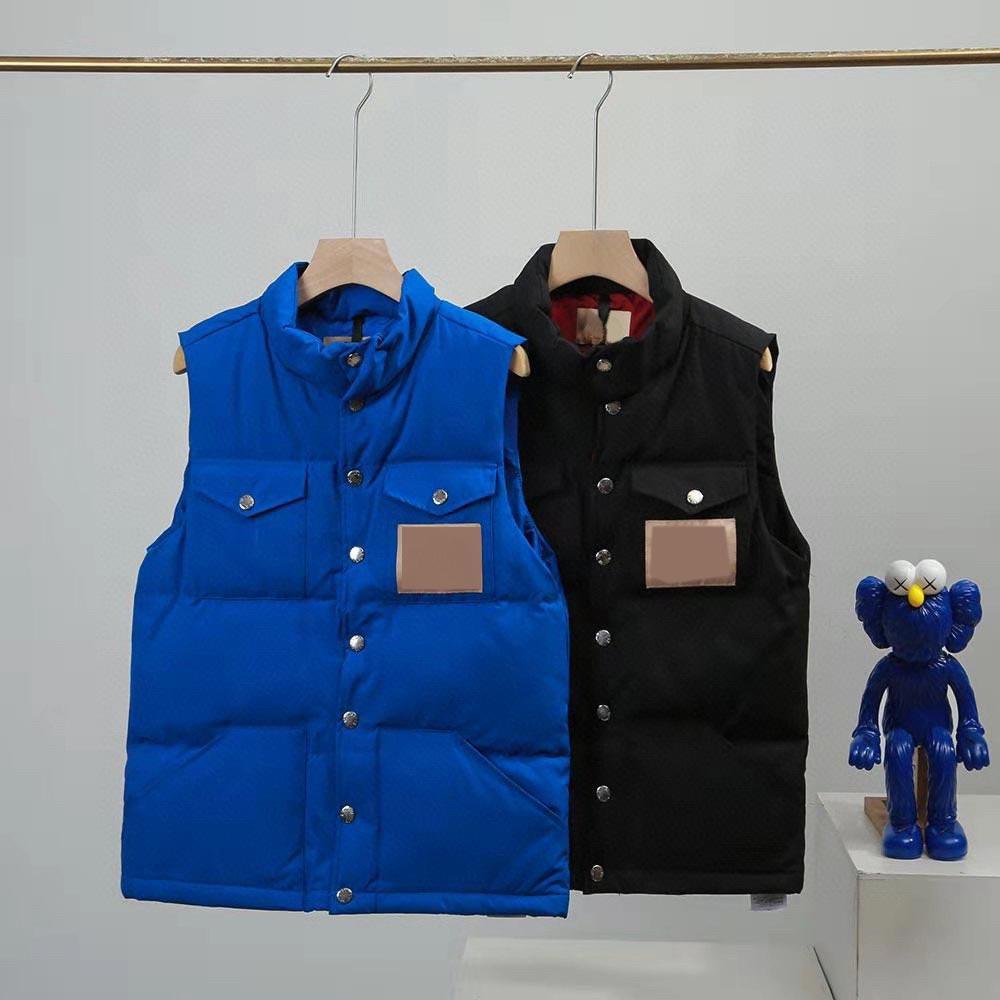 조끼 디자이너 재킷 아래로 조끼 망 여성 코트 패션 양복 조끼 자켓 남자 겉옷 다운 스 코트 민소매 탑 가을 겨울 N04
