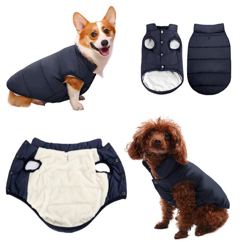 Hundkleid kleidung winter warme hunde mantel und jacken kleine große super weiche weiche baumwolle fleece outdoor haustier kleidung für