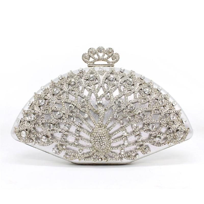 Designer de luxo mulheres mulheres sacos de diamante diamante festa de cristal saco de embreagem moda nupcial bolsas de casamento bolsos