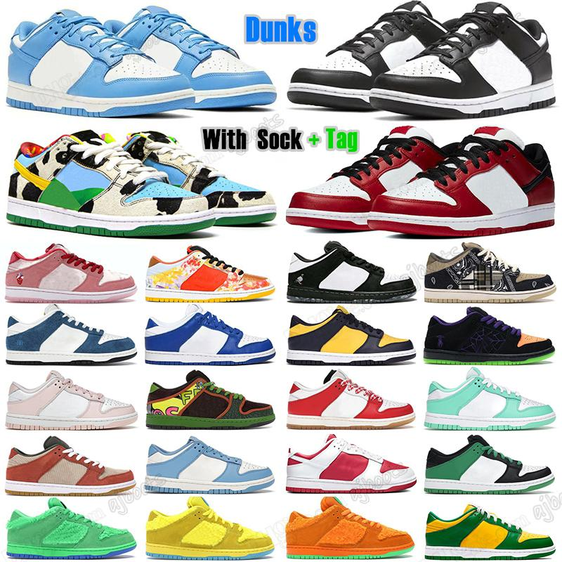 dunk Low SB Mens Women Authentic 2021 Skate Shoes High Invert Celtics Atlas Lost UNC Coast Chicago Black White Laser Orange Dunks Chunky Dunky Off Trainers Sneakers