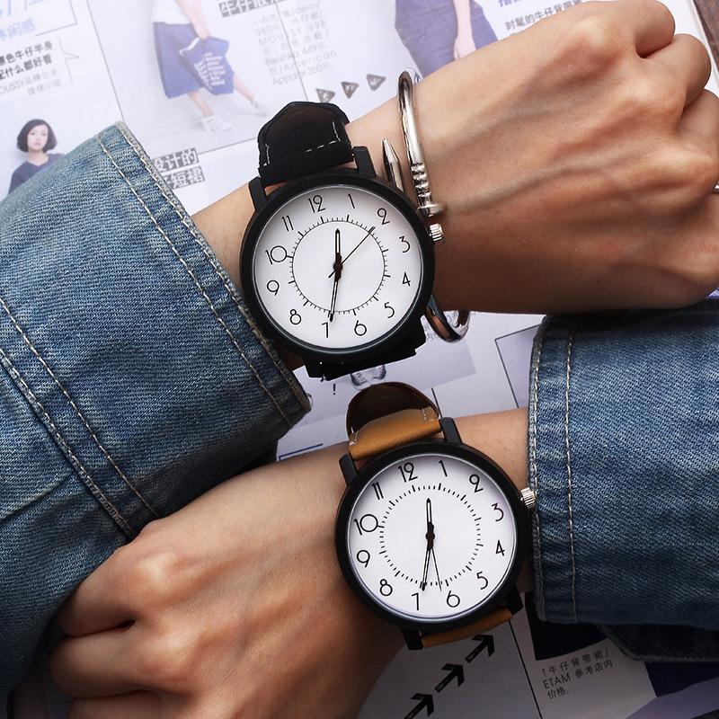 Homens Astronomia Assista Esporte Relógios Casuais Quartzo Pulso de Pulso Faux Leather Mens Drop Reloj Hombre Geneva relógios de pulso