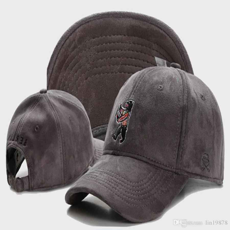 أحدث طيار أبناء برلين الدب كامو 6 لوحة البيسبول الهيب هوب قبعات strapback الرجال النساء الأزياء snapback القبعات المسطحة