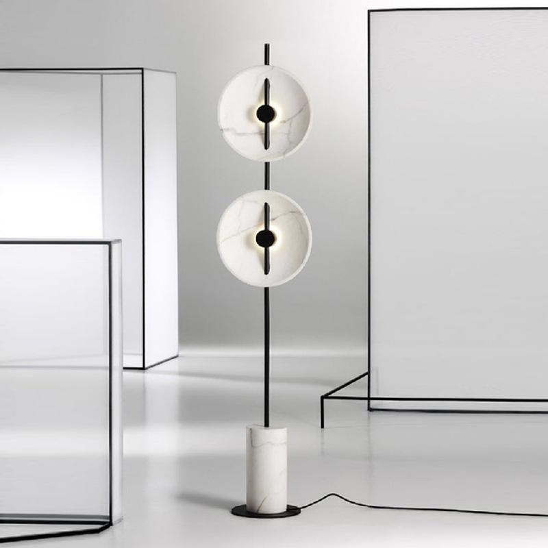 현대 LED 스톤 바닥 램프 Lampara 드 파이 Lamparas 스탠드 산업용 장식 식당 램프