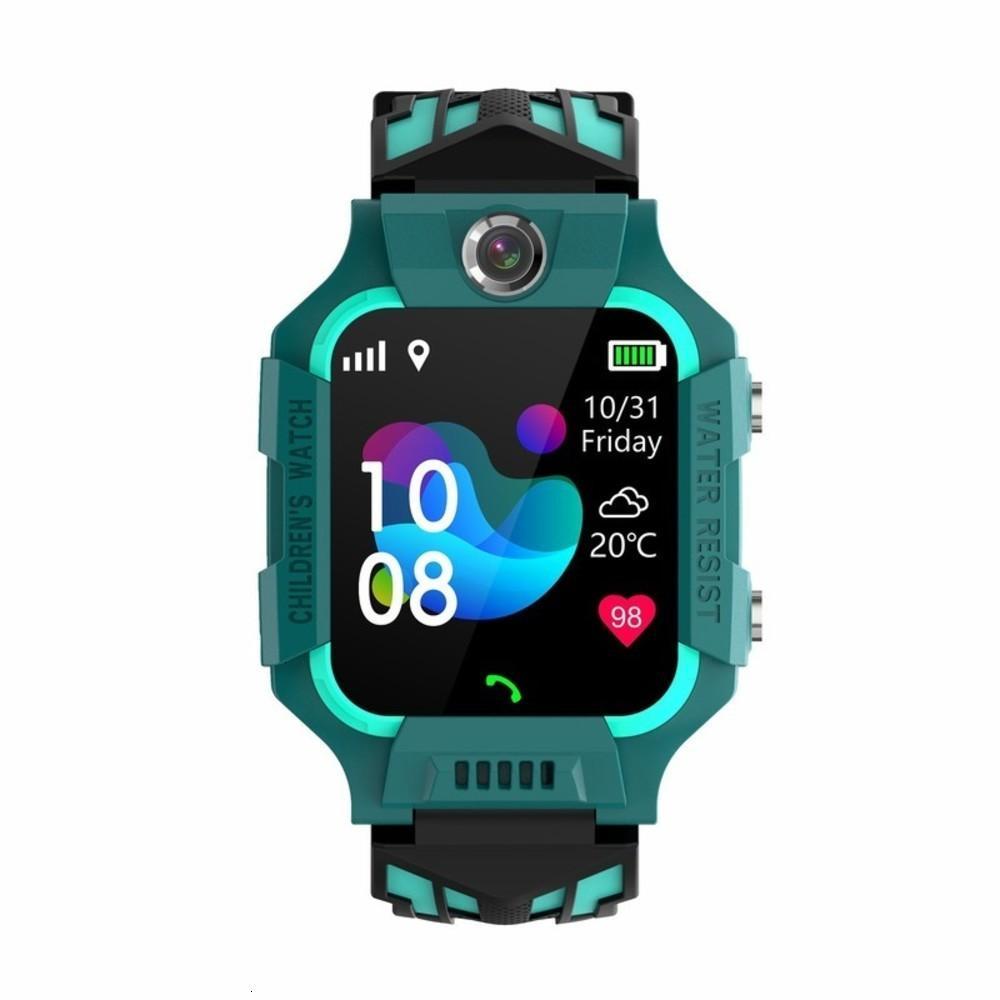 Watchs pour enfants Tirage physique Neuf 4g All Chine Montre Téléphone imperméable Z6 ILLYTEK VOIX VOIX RECONNAISSEMENT AI