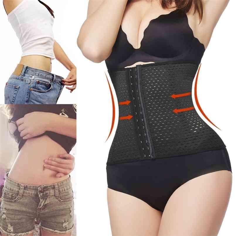 waist trainer body shaper shapewear reducing shapers and models strap tummy Slimming Corset Binders lingerie belt underwear 201224