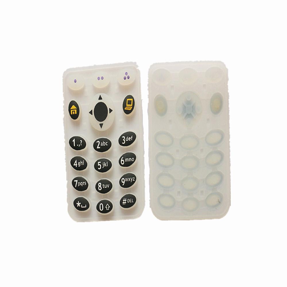 モトローラXTS2500 XTS2500Iのためのデジタル番号キーボタンのゴムキーボード双方向ポータブルラジオトランシーバのアクセサリー