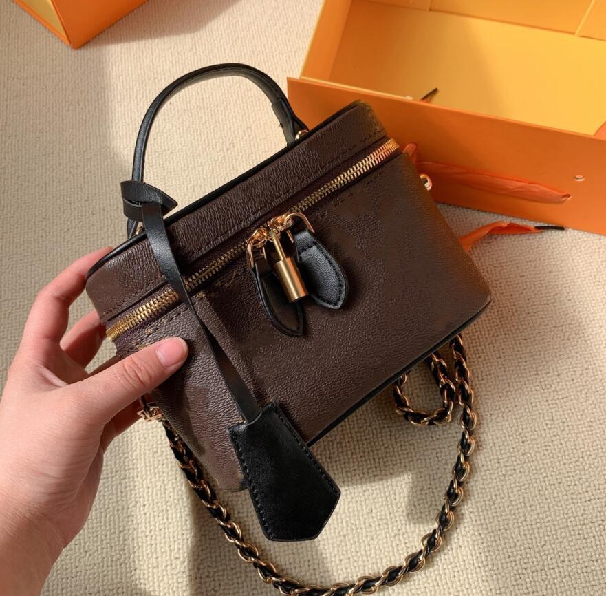 2021 diseñadores Cosmetic Bags Nice Series Mujeres Bolsas de Hombro Maquillaje Moda Bolso Bolso Crossbody Lady Bolsos