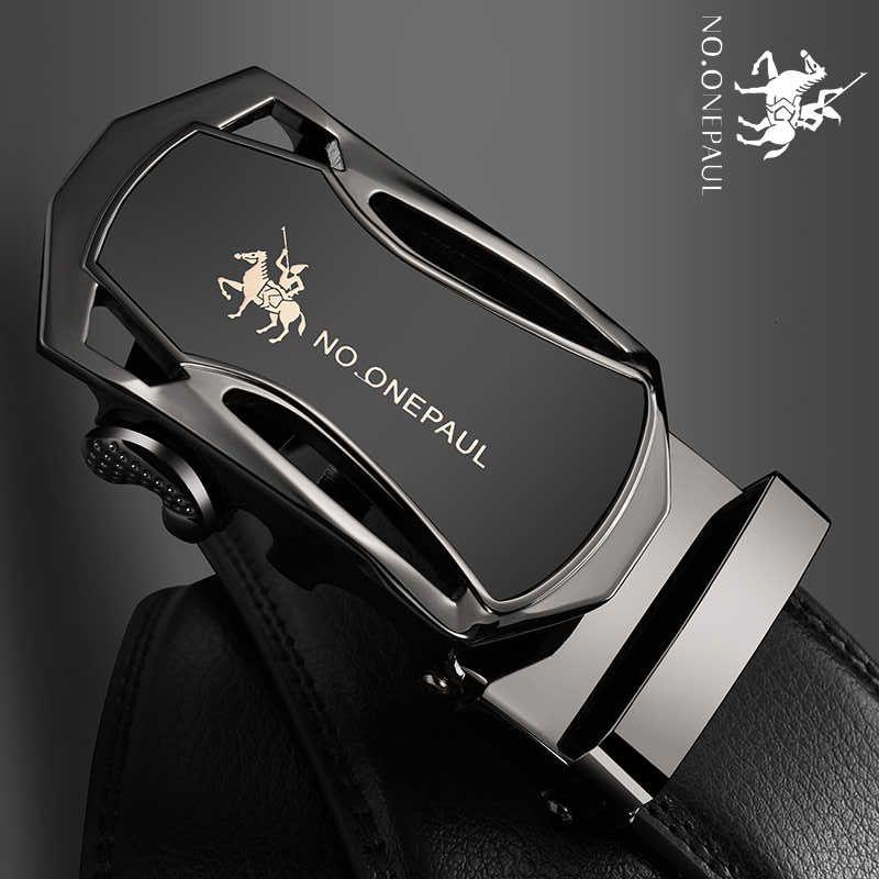 Ninguno. OnePaul Man Band Cinturones Hombre Nieuwe Colección Diseñador Real Vacío Hombres Hombres Alta Calidad Cinturón Automático GESP ZDC11