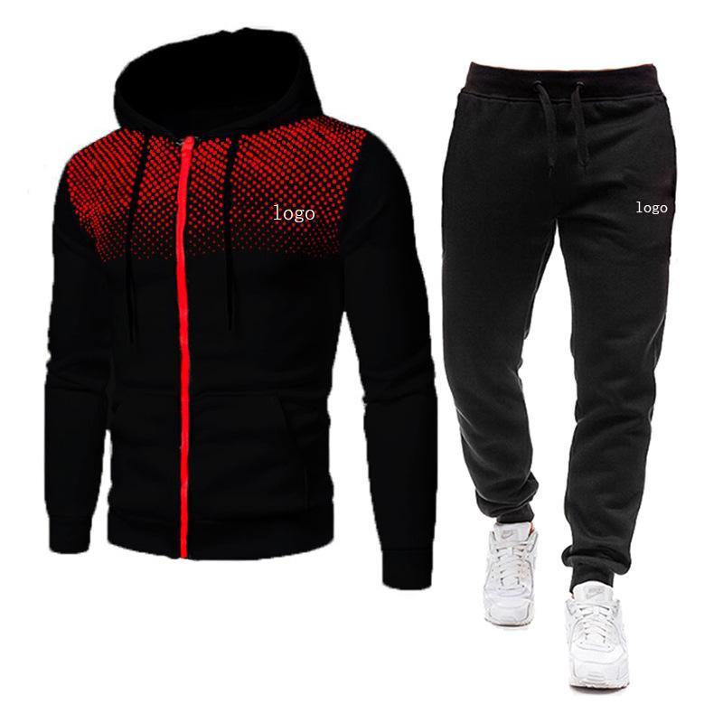 Moda Koşu Erkek Tasarımcı Eşofmanlar Spor Takım Elbise erkek Hoodie + Pantolon Rahat Yüksek Kaliteli Ceket 20ss Kadınlar İki Parçalı M-3XL