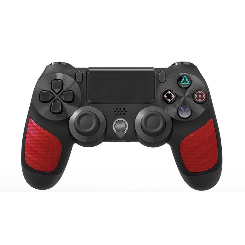 Wireless Bluetooth GamePad Joystick Controller Game Console Console Accesorio USB Manija Gamepad para PS4 Controlador de PC con caja de venta al por menor