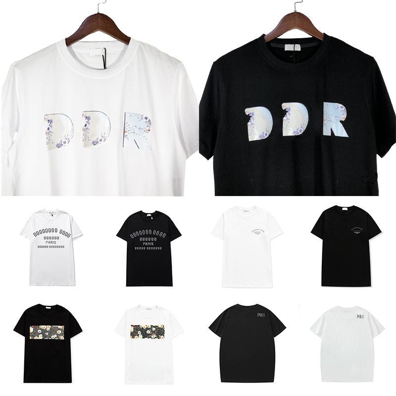 Designer Sommer T Shirts Männer Frauen Kurzarm Casual Tee Designer T-Shirt Hohe Quanlity Lose T-Shirts Größe S-3XL