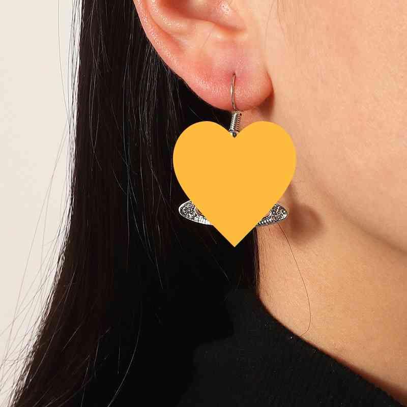 패션 토성 다이아몬드 스터드 귀걸이 개성 행성 크리 에이 티브 교수형 쥬얼리 여성 웨딩 액세서리