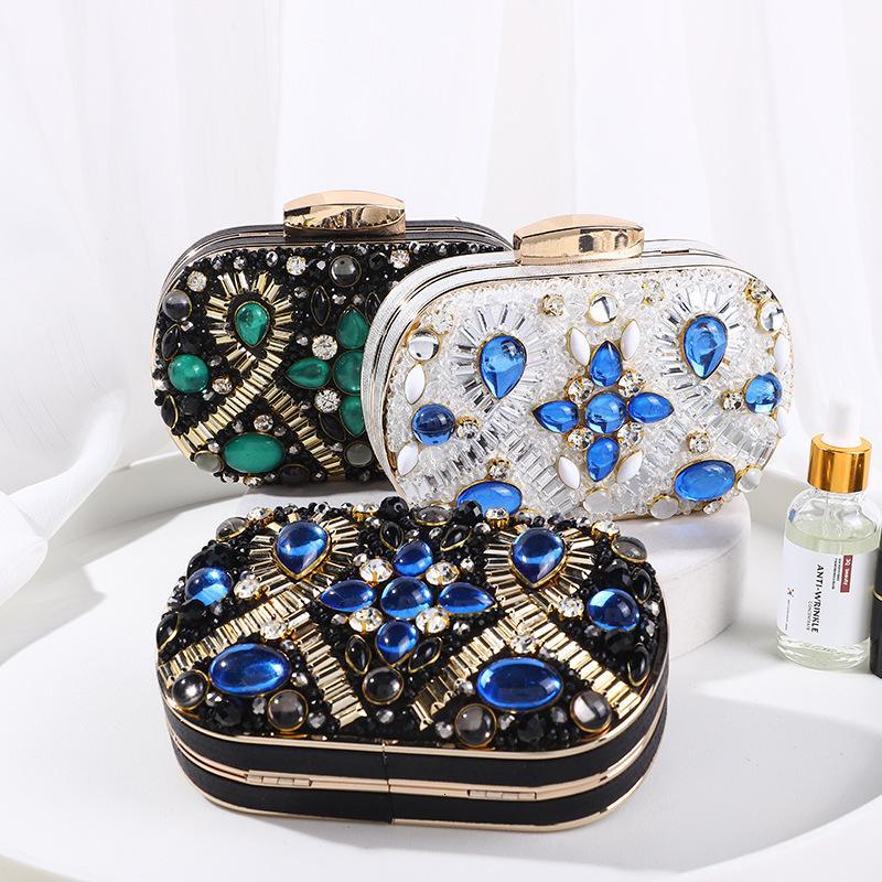Taschen Temperament Mode Frauen Mode Trend Diamantkette Große Kapazität Schulter Temperament Elegantem Abend