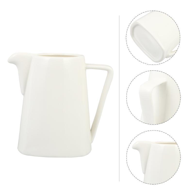 1 adet seramik fincan batı tarzı sürahi mutfak eşyaları konteyner yağı kavanoz kupalar