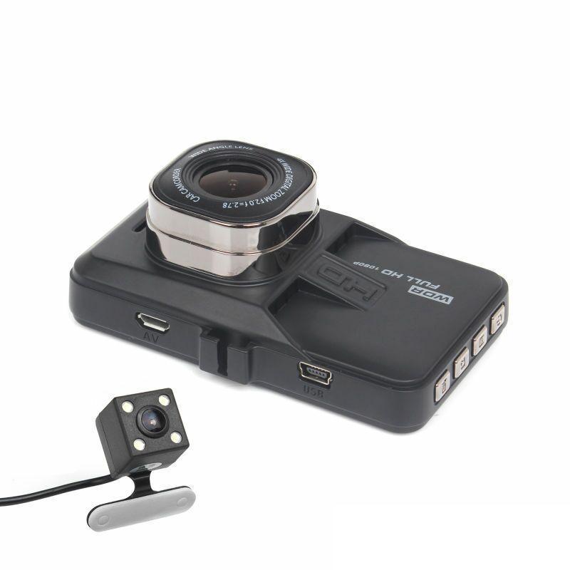 2021 Full HD 1080P Car DVR Dash Camera170 Degree angle Video Recorder Dual Camera T636 G-sensor Vision Sensor