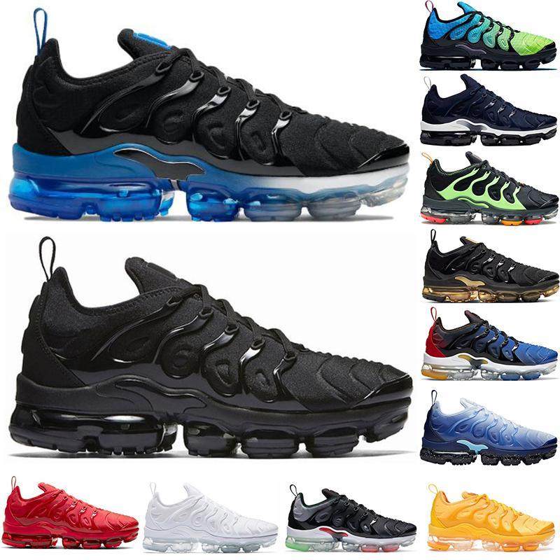 TN PLUS Мужские кроссовки размером 13 человек спортивные кроссовки тройной красный по всему миру черный гипер королевские белые мужчины женские беги тренеров EUR 36-47