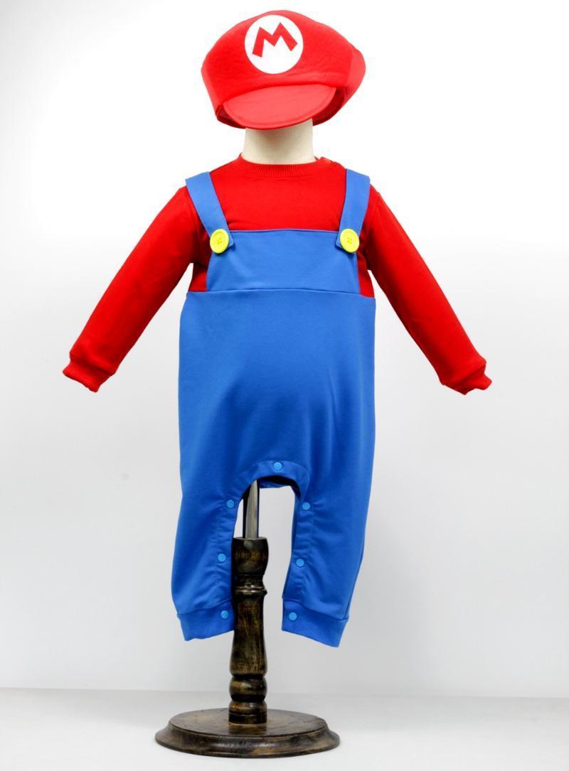 Ropa de gimnasio Disfraz de bebé Halloween Romper + sombrero Jumpsuit Tddllers Cosplay