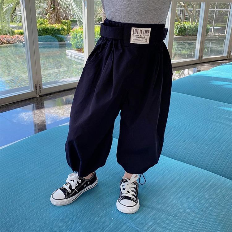 Весна дети дети мода свободных гарем брюки для девочек талия талия повседневная все-матча брюки мода девочка одежда