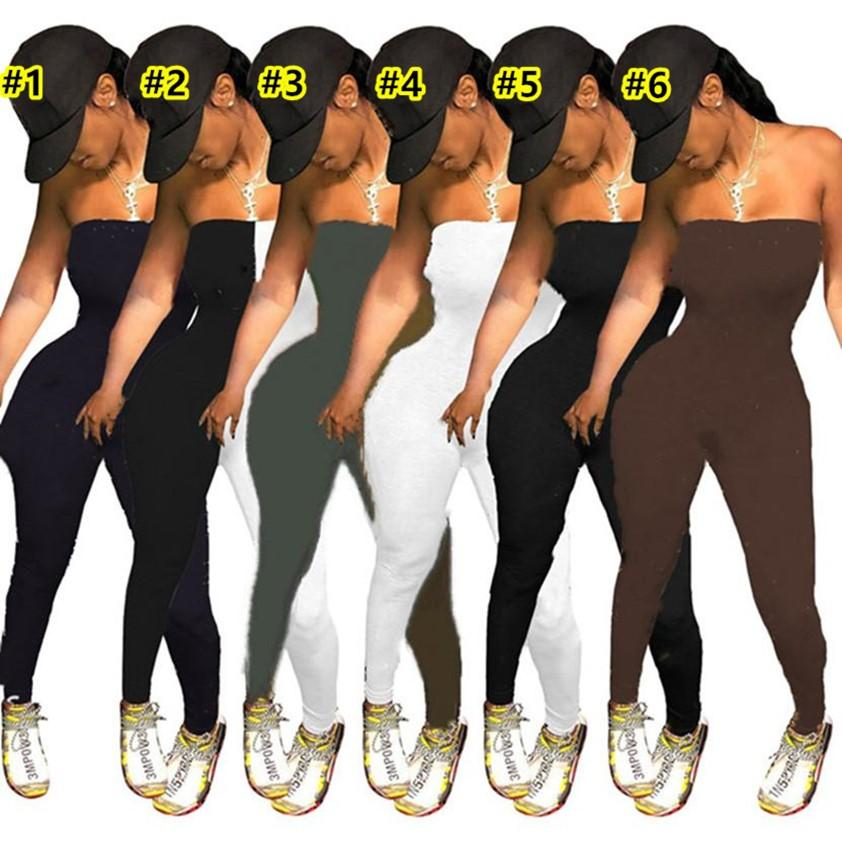 Summer Rompers Women Jumpsuits fashion one piece short leggings Sleeveless bodysuits Casual slash neck top Overalls sexy trousers Plus size S-2XL DHL ship 4577