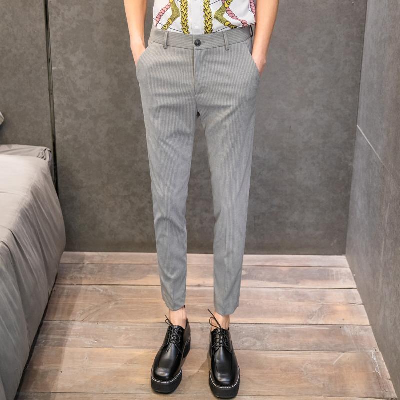 Abiti da uomo Blazers 2021 Primavera e estate versione coreana dei pantaloni casual sottili versatili versatili 28-34