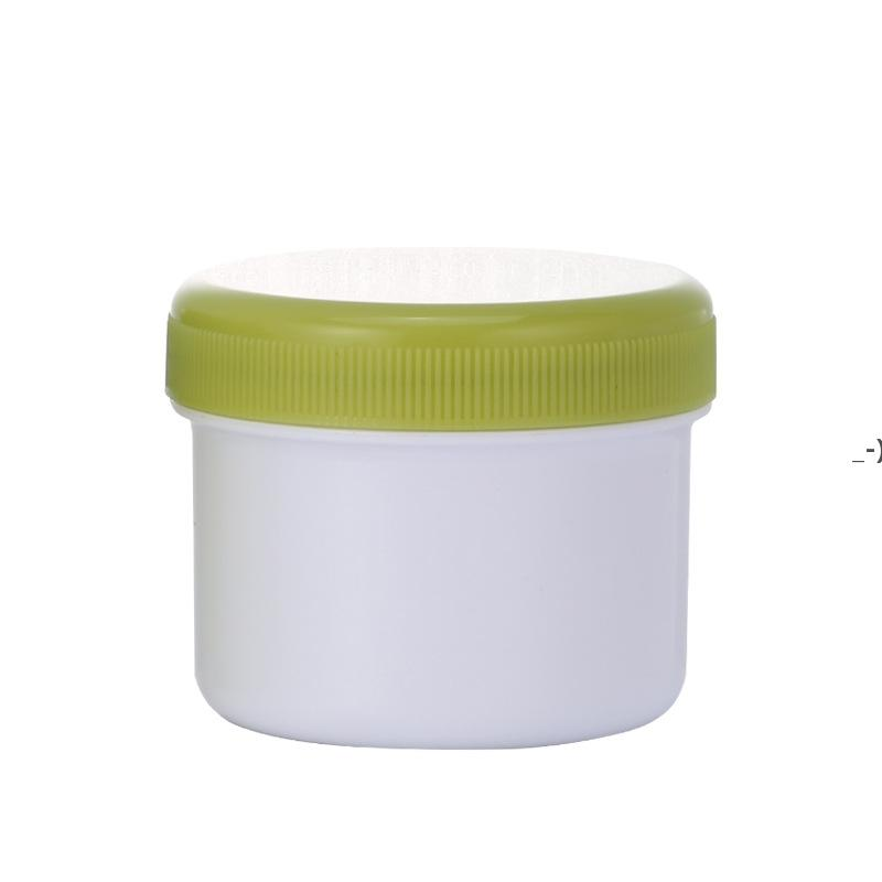 80g leerer PP-Kunststoff-Schlammmaske Gläser-Sahne-Flasche mit inneren Abdeckungs-Deckeln bunte BPA-freie Container Toll für Kosmetikküche HWD9402