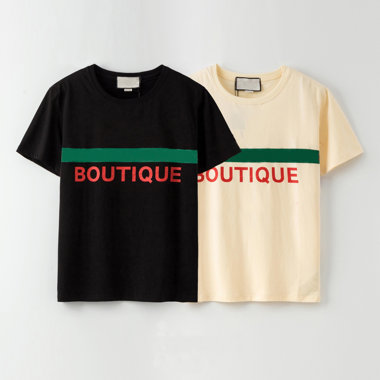 T-shirt dos homens T-shirt Maré de verão Respirável Homens Tee Moda Pares Desgaste Padrão Impressão Mulheres de Manga Curta T Camiseta