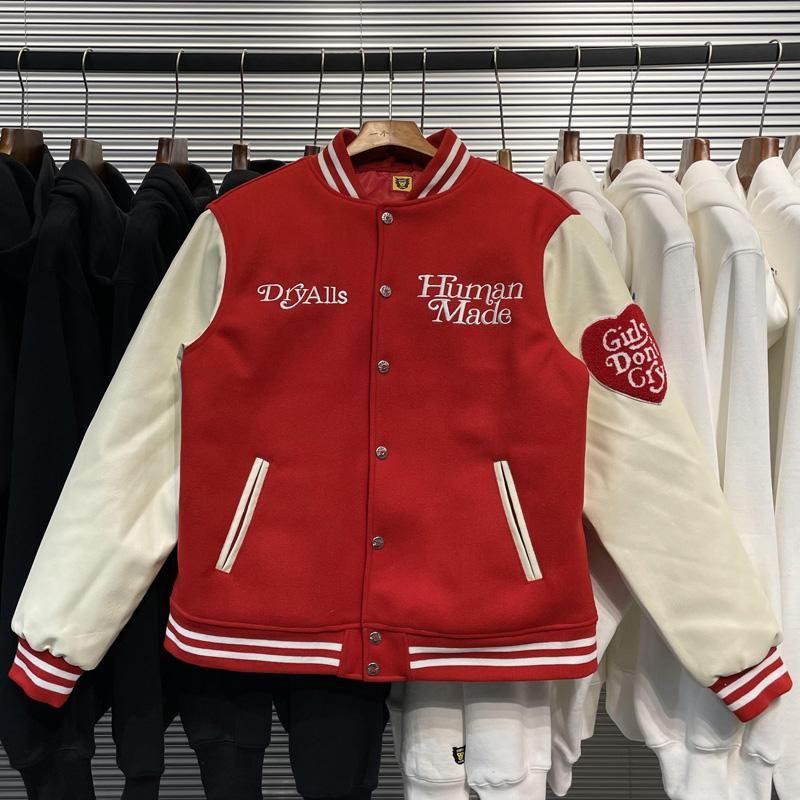 Giacca da baseball Uomo Abbigliamento Donne PU in pelle Bomber Cappotti inverno Harajuku Giacca da uomo Giapponese Giapponese Giacca da uomo
