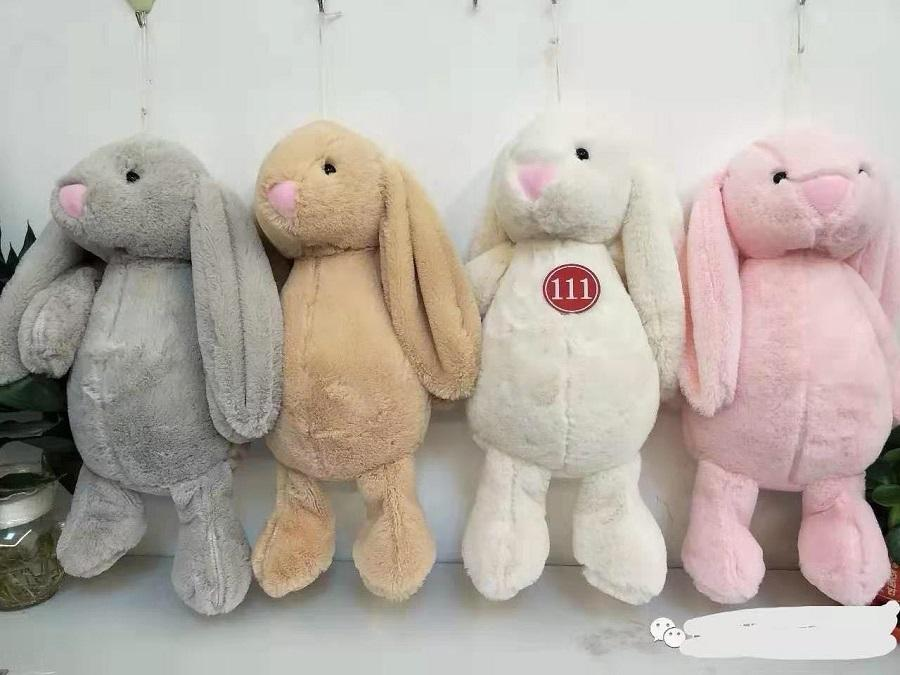 Multicolor Ins Pelúcia Rabbit Boneca Grande Orelha Brinquedo Casamento Pano Dos Desenhos Animados Crianças Presente de Aniversário