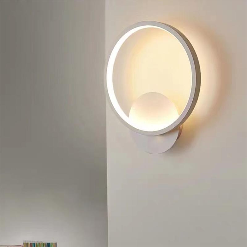 Wall Lamps LED Lamp Indoor Bedroom Bedside Reading Light Living Room El Decoration Lighting Aluminum AC110V/220V